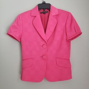 Isabella DeMarco jacket. Pink. Sz 2